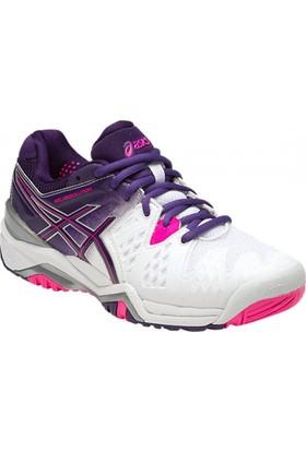 Asics Gel-Resolution 6 Kadın Tenis Ayakkabısı E550Y_0133