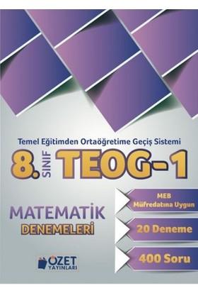 Özet Yayınları 8. Sınıf Teog-1 Matematik Denemeleri
