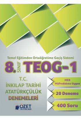 Özet Yayınları 8. Sınıf Teog-1 T.C. İnkılap Tarihi Ve Atatürkçülük Denemeleri