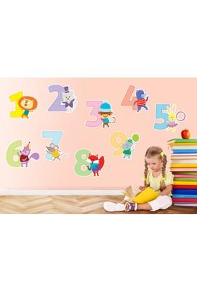 Sevimli Sayılar Sticker 53 x 22 cm