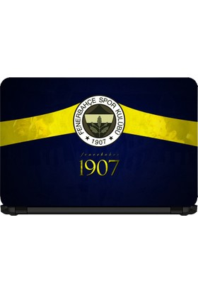 15.6 INC Notebook Sticker Fenerbahçe 1907