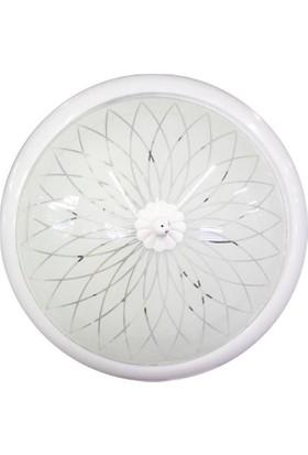 Nısa Luce Nısa E2004 Beyaz 25 Lık Cembrlı Cam Tav.Armatur*20