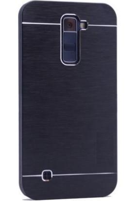 Teleplus LG K8 Tam Korumalı Metal Kapak Kılıf
