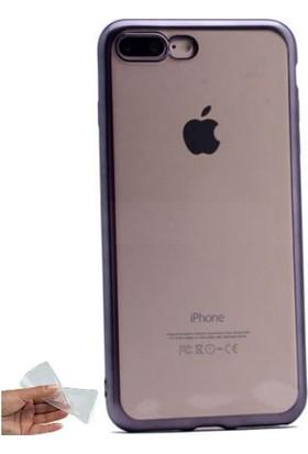 Teleplus iPhone 7 Plus Lazer Kesimli Silikon Kılıf