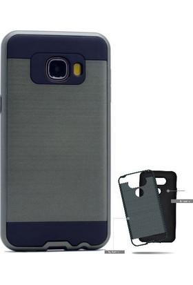 Teleplus Samsung Galaxy C5 Çift Katmanlı Kapak Kılıf