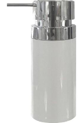 Primanova Lenox Beyaz Sıvı Sabunluk