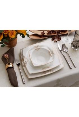 Karaca 86 Parça Fine Pearl Gold Magic Yemek Takımı
