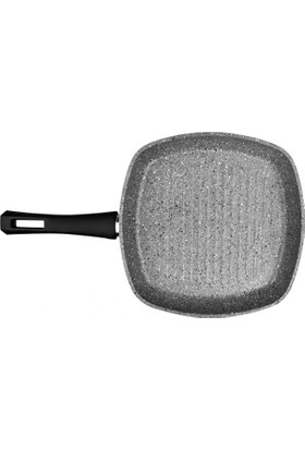 Karaca Grey Stone Bio Granit Grill 28 Cm