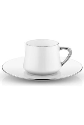 Koleksiyon Sufi Türk Kahvesi Seti 6 Lı Platin