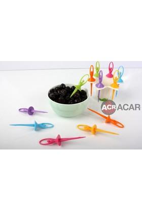 Acar Plastik Balerin Kürdan 6 Lı Set