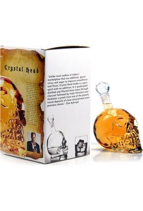 Original Boutique Crystal Head Kuru Kafa Cam Şişe
