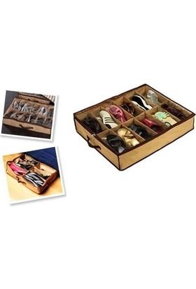 Original Boutique Shoes Under 12'li Ayakkabı Saklama Hurcu