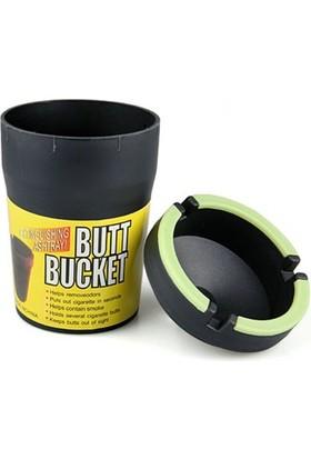 Pratik Sigara Dumanını Hapseden Kova Küllük Butt Bucket