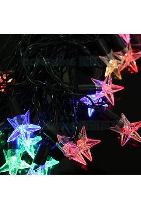 Pratik Yıldızlı 40 Led Dolama Dekor Işıkları (Rgb 5M.)