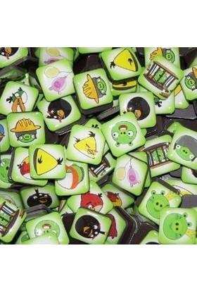 Pratik Angry Birds Buzdolabı Magnetleri (18 Adet)