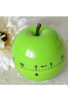 Pratik Elma Şeklinde Mutfak Zamanlayıcı Timer