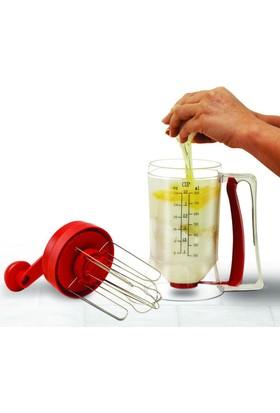 Pratik Pancake Machine Mikser Krep Makinesi