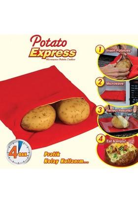 Pratik Patates Pişirme Kumpir Torbası Potato Express