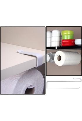Pratik Raf Altı Kağıt Havlu Askılığı