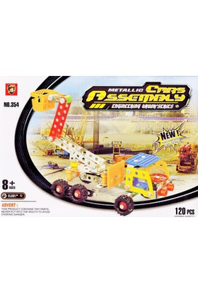 Pratik 120 Parça Metal Lego Vinç - V44