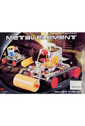 Pratik 281 Parça Metal Lego İş Makinesi 2 Adet - V47