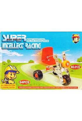 Pratik 64 Parça Metal Lego Bisiklet - V34