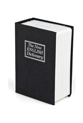 Pratik Kitap Görünümlü Mini Gizli Kasa Kumbara