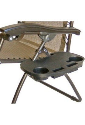 Original Boutique Relaxer And Beach Chair Side Table - Sandalye Sehpası
