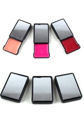 Pratik Telefon Arkası Ayna Ve Dudak Parlatıcısı (3 Adet)