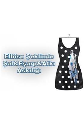 Pratik Elbise Şeklinde Eşarp Organizeri