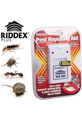 Pratik Elektronik Fare Ve Haşere Kovucu Riddex Pulse
