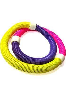 Pratik Yaylı Spor Aleti Hula Hoop