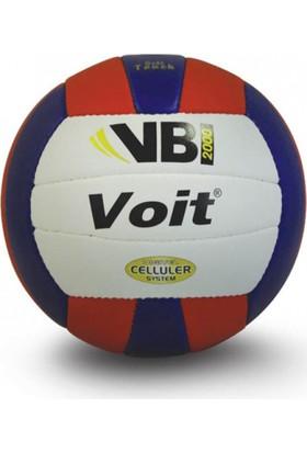 Voit Vb2000 El Dikiş Voleybol Topu Beyaz-Mavi-Kırmızı 5 Numara