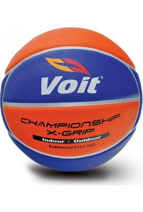Voit Xgrip Basketbol Topu Sarı-Lacivert 7 Numara