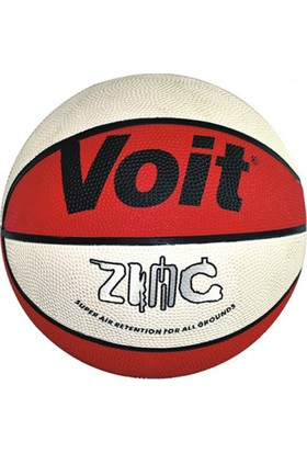 Voit Zinc N7 Kauçuk Basket Topu Kırmız-Beyaz 7 Numara