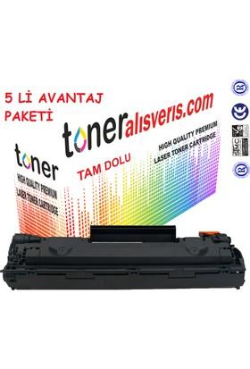 Paintter Hp Ce 285A 5Li Paket Muadil Toner P1100, P1102W, M1132, M1212, M1218
