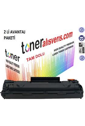 Paintter Hp Cb 435A 2Li Paket P1005/P1006 İtPaintteral Muadil Toner