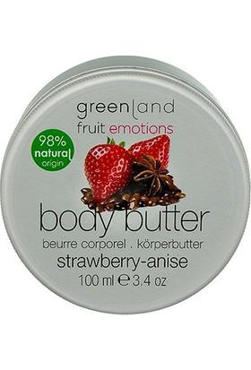Greenland Vücut Bakımı Parabensiz Vücut Yağı Body Butter Çilek - Anason