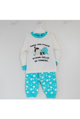 Babycool 2893 Vurur Yüze İfadesi Bebek Pijama Takımı
