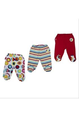 Bebepan 1736 Mrs. Fish 3'lü Bebek Patikli Pantolon