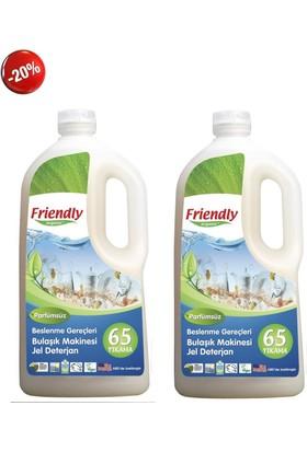 Friendly Organic Bulaşık Makinesi Deterjanı Jel 2 Adet 1.183 Lt