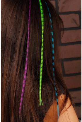 Vidanya Renkli Desenli Bayan Saç Aksesuarı