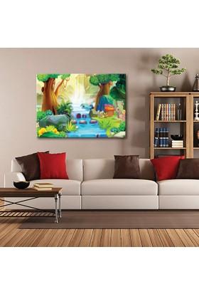 Tablom Dere ve Orman Çocuk Odası Tablo