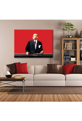 Tablom Atatürk Kanvas Tablo