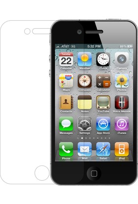 CaseUp Apple iPhone 4 CaseUp Şeffaf Ekran Koruyucu