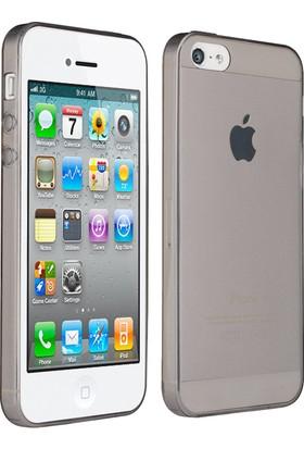 CaseUp Apple iPhone 4 Kılıf İnce Silikon Cam