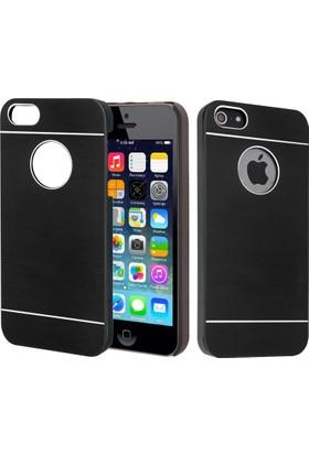CaseUp Apple iPhone 4S Kılıf Metal Korumalı Cam