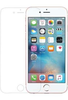 CaseUp Apple iPhone 6S (4.7'') CaseUp Şeffaf Ekran Koruyucu