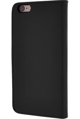 CaseUp Apple iPhone 6S Plus Kılıf Cüzdanlı Suni Deri Cam