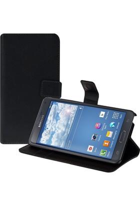 CaseUp Cüzdanlı Standlı Deri Samsung Galaxy Note 4 Kılıf Cam